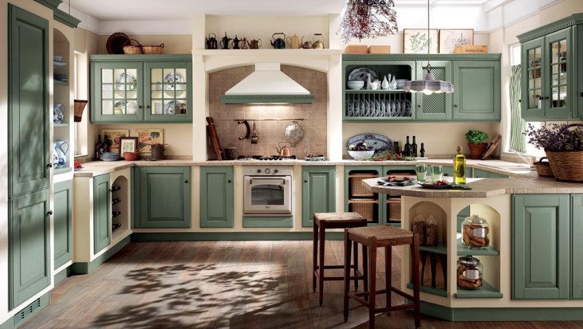 baltimora cucina classica high classic scavolini mantova mn ...