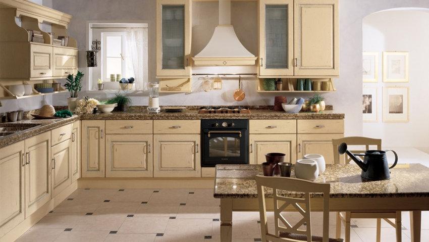 belvedere cucina classica country romance scavolini mantova mn ...
